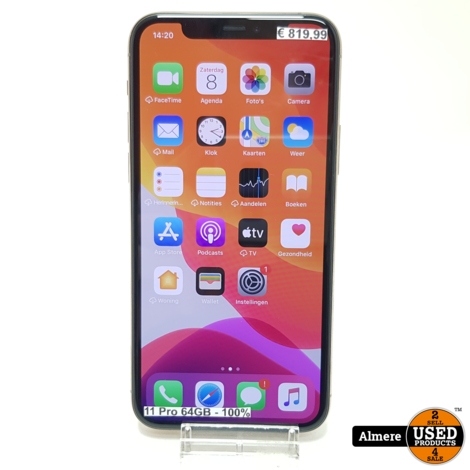 iPhone 11 Pro 64GB Gold | Goede staat
