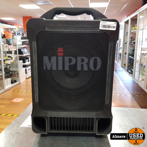 MIPRO MA-707 PA 100 Watt draadloos geluidsysteem | Nette staat
