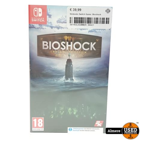 Nintendo Switch Game: Bioshock
