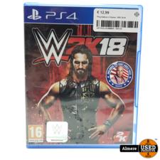Sony Playstation 4 Game: WW 2k18