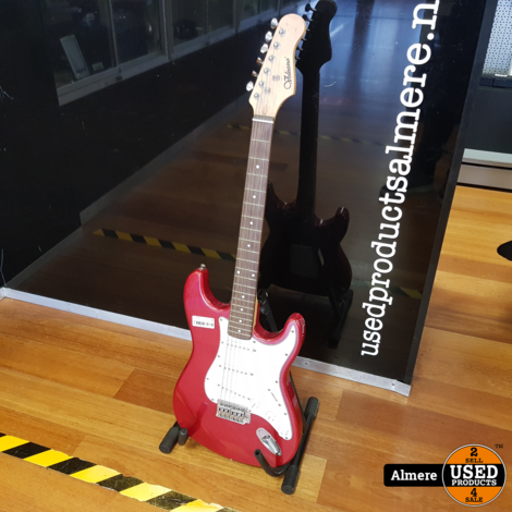 Volcano Red Electric Guitar | Nette staat