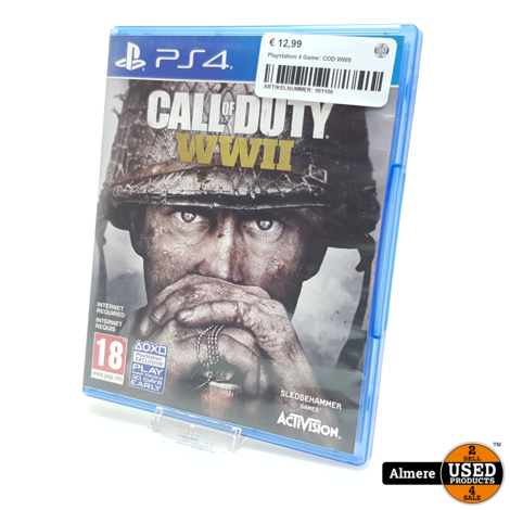 Playstation 4 Game: COD WWII