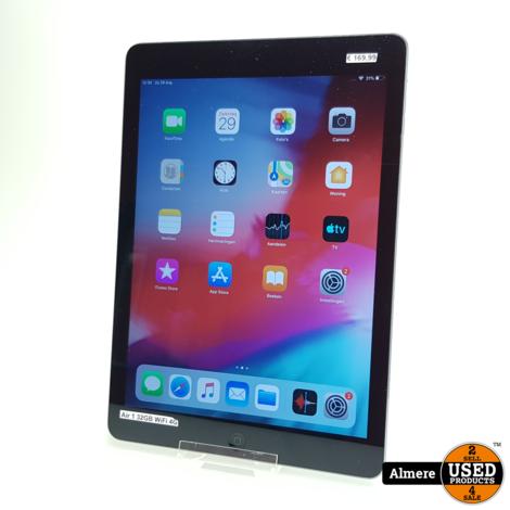 iPad Air 1 32GB Space Gray WiFi/4G | Redelijke staat