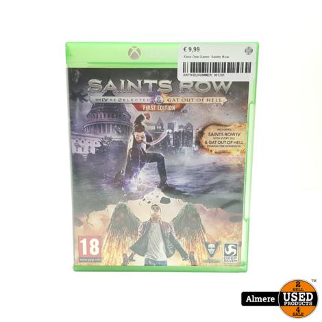 Xbox One Game: Saints Row
