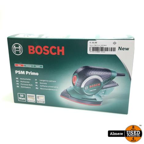 Bosch PSM Primo 50W Multi schuurmachine | Nieuw