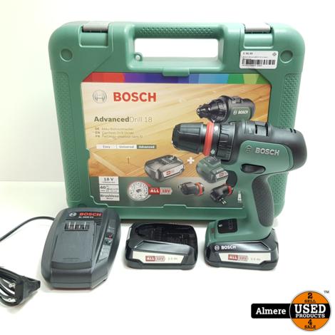 Bosch AdvancedDrill 18 in doos   Nieuwstaat