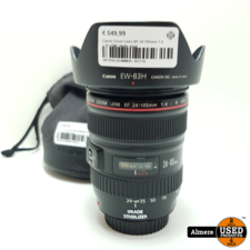 Canon Canon Zoom Lens EF 24-105mm 1:4 L IS USM | Nette staat