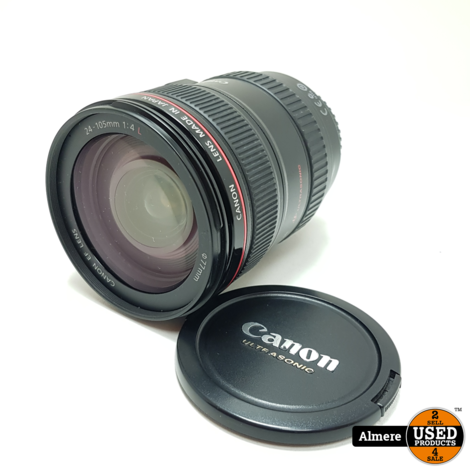 Canon Zoom Lens EF 24-105mm 1:4 L IS USM | Nette staat