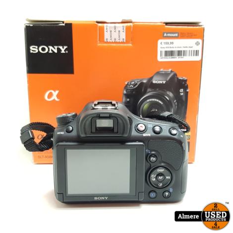 Sony A58 Body in doos   Nette staat