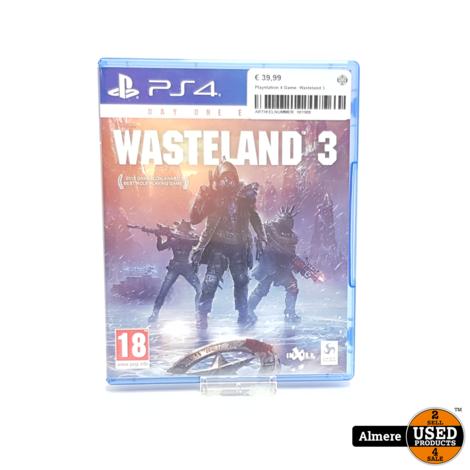 Playstation 4 Game: Wasteland 3