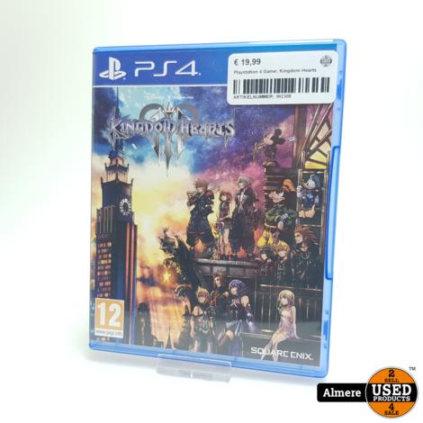Playstation 4 Game: Kingdom Hearts