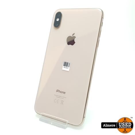 iPhone Xs Max 64GB Gold in doos