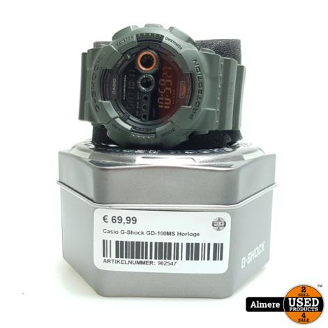 Casio G-Shock GD-100MS Horloge