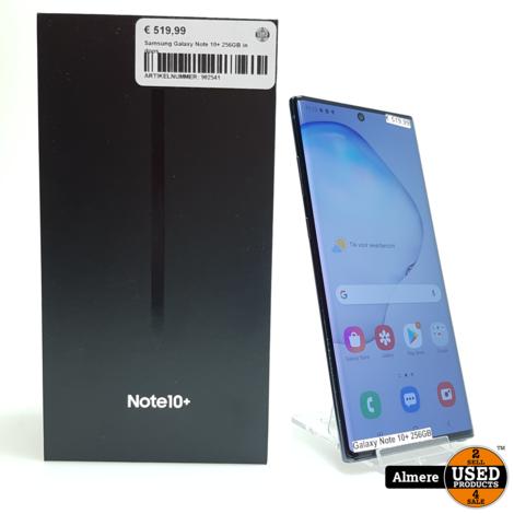 Samsung Galaxy Note 10+ 256GB in doos