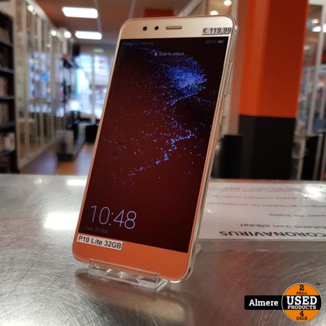 Huawei P10 Lite 32GB Goud | Nette staat