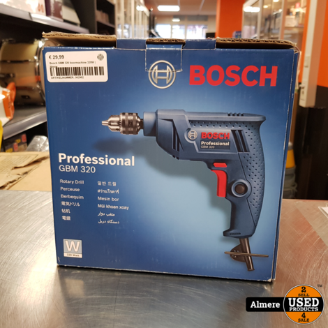 Bosch GBM 320 boormachine 320W | Nieuw
