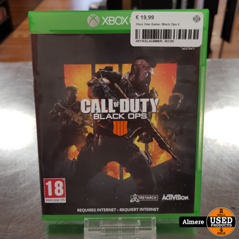Xbox One Game: Black Ops 4