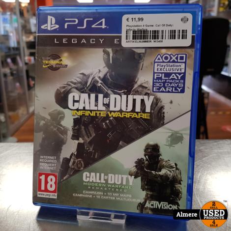 Playstation 4 Game: Call Of Duty: Infinite Warfare