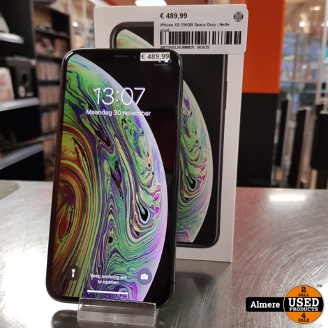 iPhone XS 256GB Space Grey | Nette staat