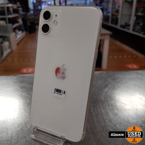 iPhone 11 128GB Wit in doos | Nieuwstaat