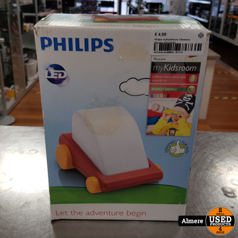 Philips myKidsRoom Tafellamp Pescaro 432733216