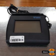 Topaz Topaz T-LBK750SE-BHSB-R 4x3 LCD-achtergrondverlichting met handtekening Capture Pad