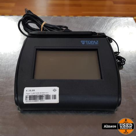 Topaz T-LBK750SE-BHSB-R 4x3 LCD-achtergrondverlichting met handtekening Capture Pad