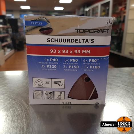 Topcraft schuurpapier 93x93x93mm 7892