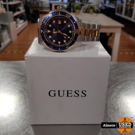 GUESS De Crew horloge W1002G5 in doos | Nette staat