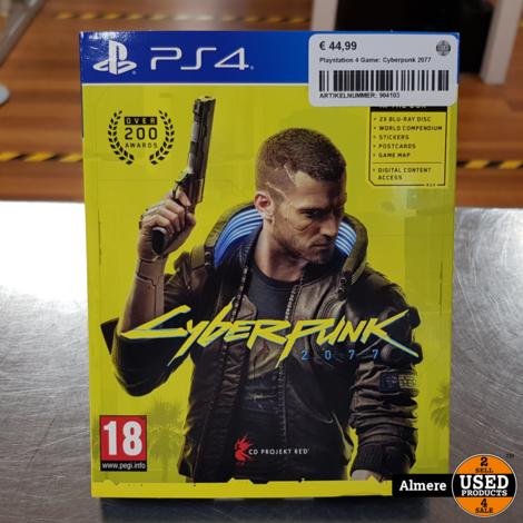 Playstation 4 Game: Cyberpunk 2077