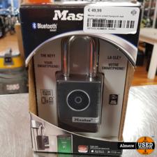 Master lock Master Lock smart hangslot met bluetooth metaal