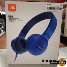 JBL JBL E35 headphones blauw | in doos