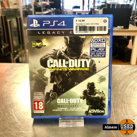 Playstation 4 Game: Call of Duty Infinite Warfare