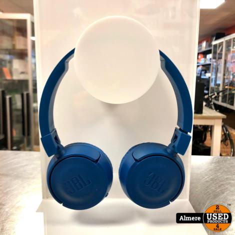JBL T450BT Draadloze on-ear hoofdtelefoon Blauw | Nette staat