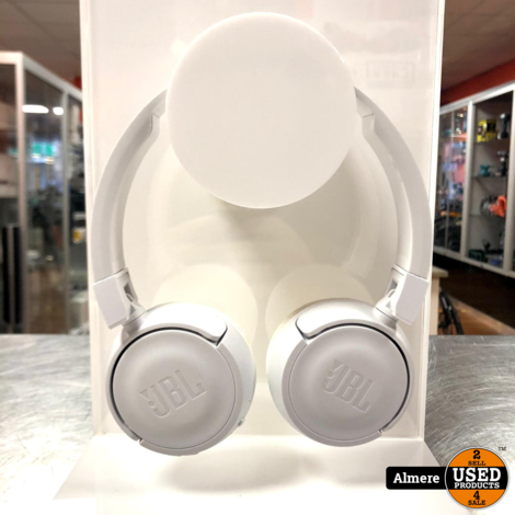JBL T450BT Draadloze on-ear hoofdtelefoon Wit