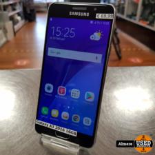 Samsung Galaxy A3 2016 16GB Zwart   Nette staat