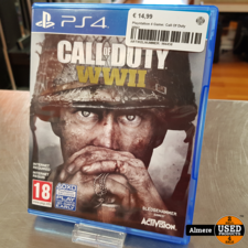 Playstation 4 Game: Call Of Duty WW2