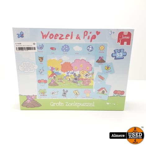 WOEZEL& PIP Grote zoekpuzzel   Nieuw in seal