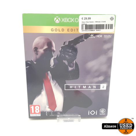 Xbox One Game : Hitman 2 Gold Edition
