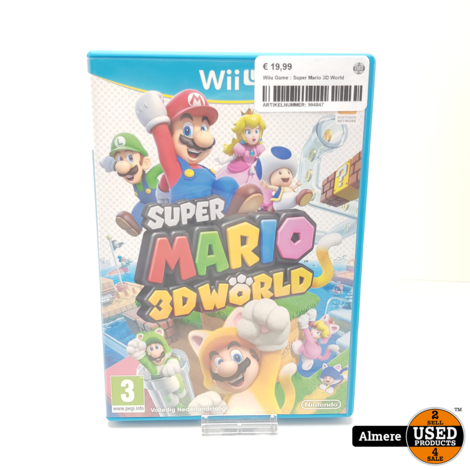Wiiu Game : Super Mario 3D World