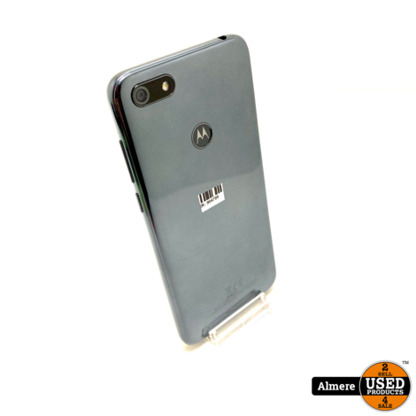 MOTOROLA Moto E6 Play 32 GB Dual-sim Zwart