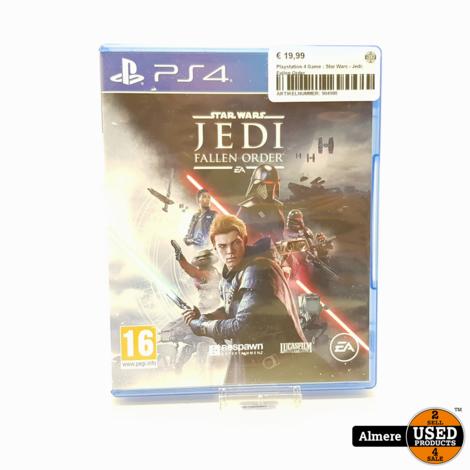 Playstation 4 Game : Star Wars - Jedi: Fallen Order