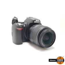 Nikon Nikon D40x camera met 18-55mm kitlens   Nette staat