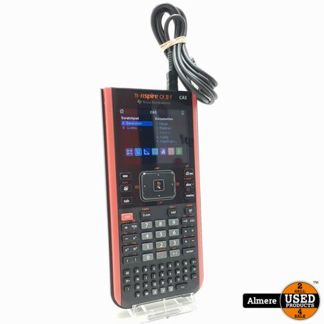Texas Instruments TI-nspire CX II-T CAS rekenmachine | Nette staat