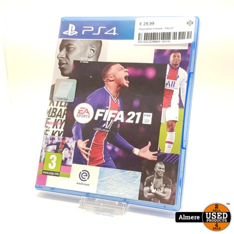 Playstation 4 Game : Fifa 21
