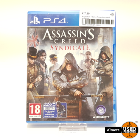 Playstation 4 Game: Assassin's creed Syndicate