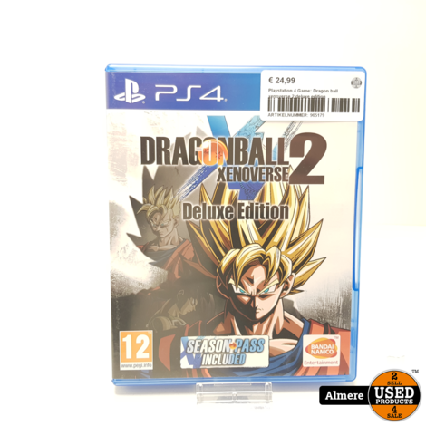 Playstation 4 Game: Dragon ball xenoverse 2 deluxe edition