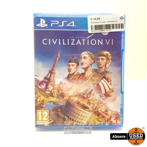 Playstation 4 Game : Civilzation VI