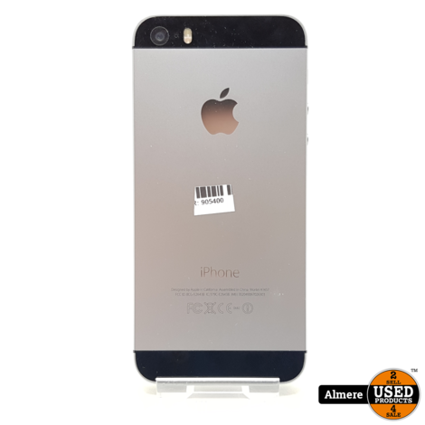 iPhone 5S 16GB Space Gray | Nette staat