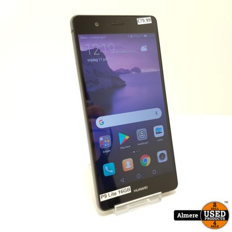 Huawei P9 Lite 16GB Black | Nette staat